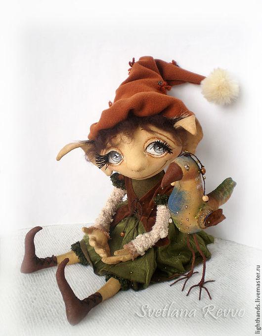 Коллекционные куклы ручной работы. Ярмарка Мастеров - ручная работа. Купить С мечтою о весне. Коллекционная кукла. Handmade.