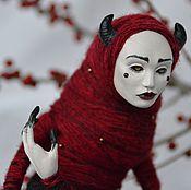 Куклы и игрушки ручной работы. Ярмарка Мастеров - ручная работа кукла Rouge. Handmade.