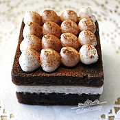 """Косметика ручной работы handmade. Livemaster - original item """"Тирамису"""" мыло ручная работа подарок сладкое десерт изысканный. Handmade."""