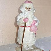 Винтаж ручной работы. Ярмарка Мастеров - ручная работа Дед Мороз ватный советский , Ярославль. Handmade.