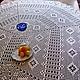 Красивая скатерть кружевная скатерть крючком украшение интерьера Купить вязаную скатерть заказать скатерть подарок на свадьбу подарок на юбилей подарок на новоселье