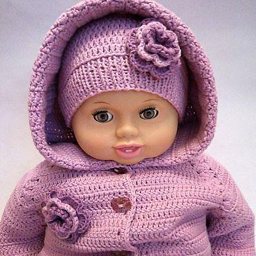 Товары для малышей ручной работы. Ярмарка Мастеров - ручная работа КОМБИНЕЗОН + шапочка и носочки для малыша. Handmade.