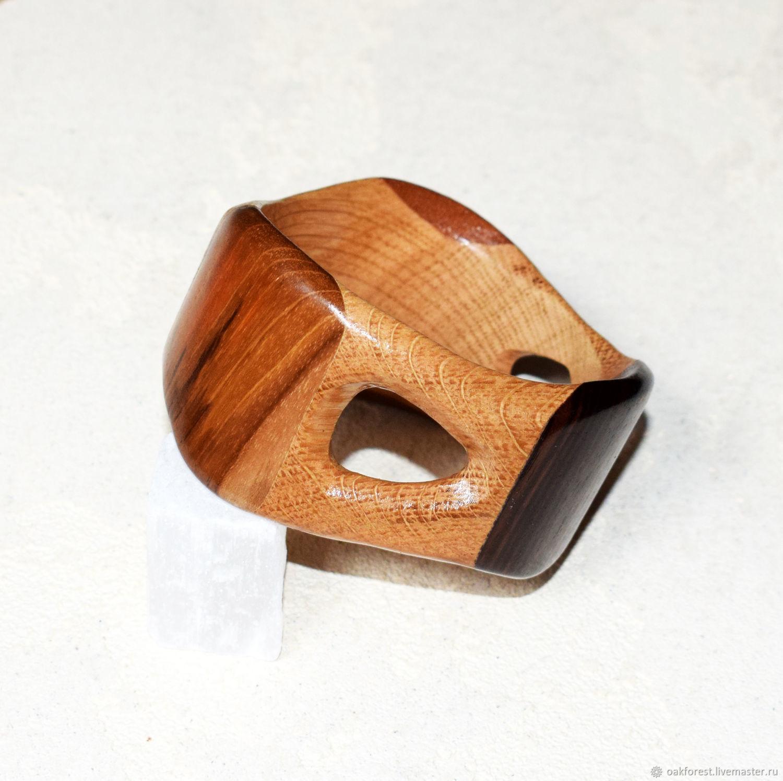 Author's bracelet made of wood 'Loop', Hard bracelet, Domodedovo,  Фото №1
