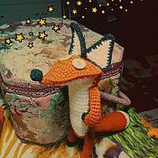 Куклы и игрушки ручной работы. Ярмарка Мастеров - ручная работа Мистер Лис (м/ф Маленький Принц). Handmade.