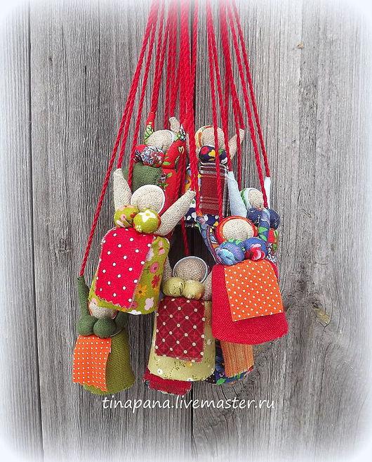 """Народные куклы ручной работы. Ярмарка Мастеров - ручная работа. Купить Мини-кукла """"Благость"""". Handmade. Кукла-сувенир, ирис"""