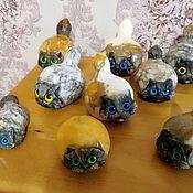 Для дома и интерьера handmade. Livemaster - original item Seals made of natural Ural stone Anhydrite and Calcite. Handmade.