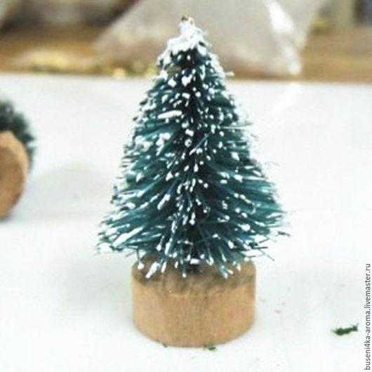 Для украшений ручной работы. Ярмарка Мастеров - ручная работа. Купить Елочка миниатюрная 20х40мм (1шт). Handmade. Миниатюрный