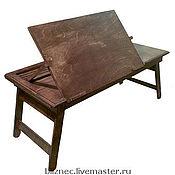 Для дома и интерьера ручной работы. Ярмарка Мастеров - ручная работа На кроватный столик для ноутбука. Handmade.