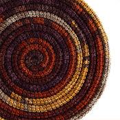 Украшения ручной работы. Ярмарка Мастеров - ручная работа Украшение на шею Lasso Brick вязаный шарф колье бусы. Handmade.