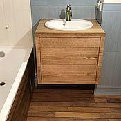 Комоды ручной работы. Ярмарка Мастеров - ручная работа Навесная тумба  в ванную комнату. Handmade.