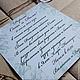 """Свадебные открытки ручной работы. Приглашения на свадьбу """"Яблочная"""". Ferlya. Ярмарка Мастеров. Свадебное приглашение, яблоки"""
