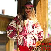 Одежда handmade. Livemaster - original item Blouse folk