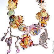 Украшения handmade. Livemaster - original item Beads Life is good. Handmade.