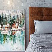 Картины и панно handmade. Livemaster - original item Place the Picture landscape oil on canvas. Handmade.