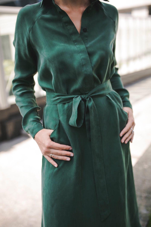 Шелковое платье-рубашка, Платья, Москва, Фото №1