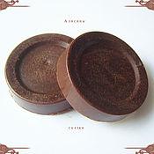 Косметика ручной работы. Ярмарка Мастеров - ручная работа Гидрофильная шоколадная плитка для тела. Handmade.