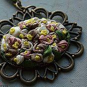 Украшения handmade. Livemaster - original item Vintage flowers. Handmade.