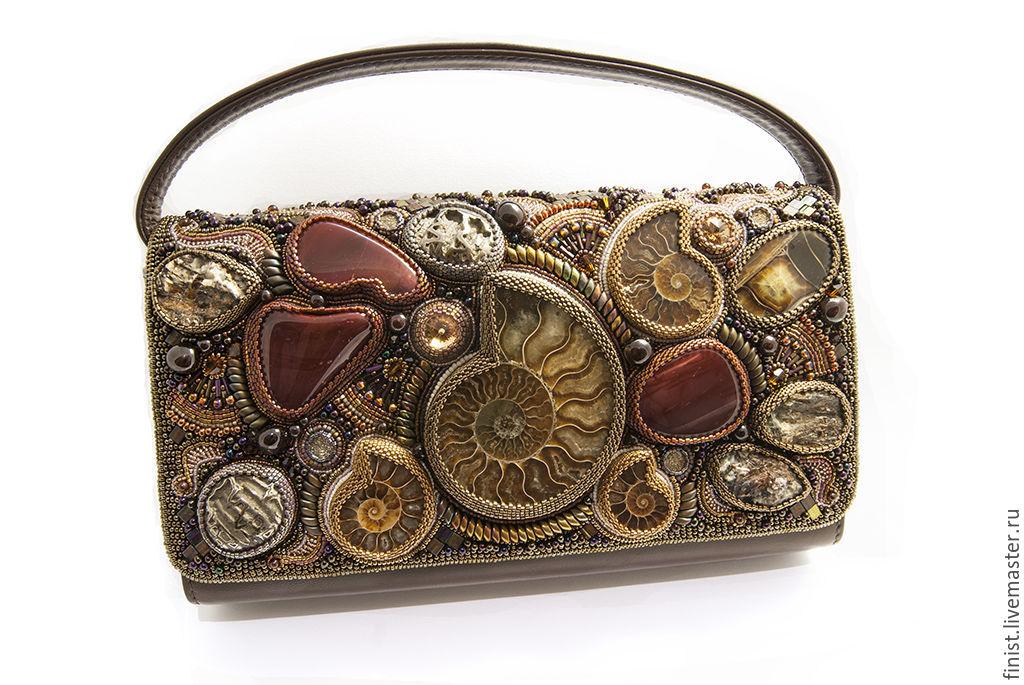 Женская сумка из натуральной кожи ручной работы 83