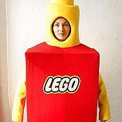 Одежда handmade. Livemaster - original item Lego-Man. Animator-actor suit. Handmade.