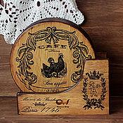 Для дома и интерьера handmade. Livemaster - original item A set of cutting boards from hevea