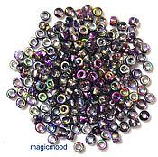Материалы для творчества handmade. Livemaster - original item 10gr Matubo 7/0 3,5 mm 95500CR violet deutesche beads. Handmade.