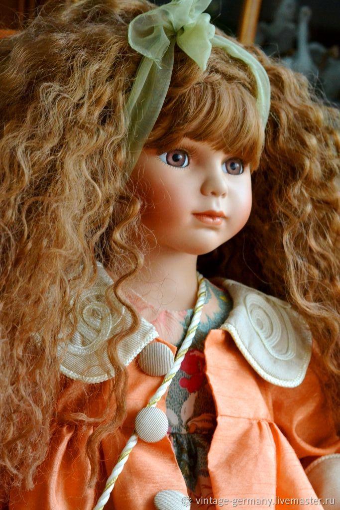 Винтаж: Фарфоровая кукла. Германия, Куклы винтажные, Штутгарт,  Фото №1