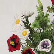 Цветы и флористика ручной работы. Ярмарка Мастеров - ручная работа маки. Handmade.