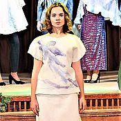 """Одежда ручной работы. Ярмарка Мастеров - ручная работа Костюм валяный """"Нежность"""". Handmade."""