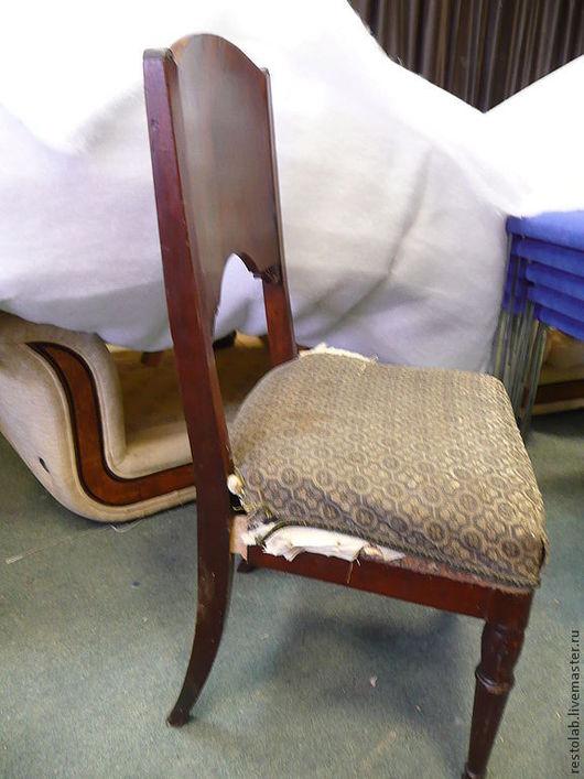 Реставрация. Ярмарка Мастеров - ручная работа. Купить Реставрация старинного стула.. Handmade. Коричневый, реставрация стула, шеллак