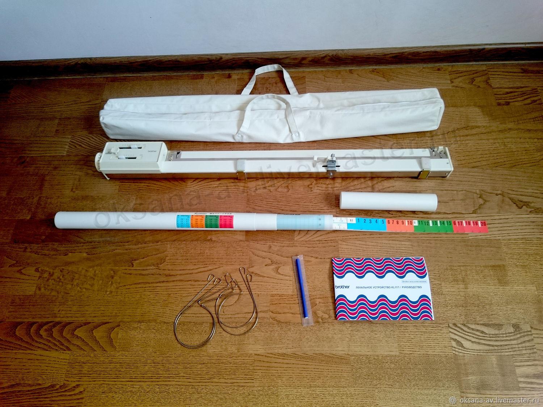 Лекальное устройство Brother KL117,новое, Япония – купить на Ярмарке Мастеров – M0MWGRU | Инструменты для вязания, Новосибирск