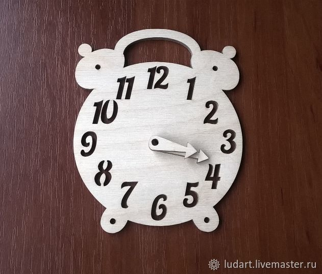 Часы-будильник ( заготовка для бизиборда), Бизиборды, Санкт-Петербург,  Фото №1