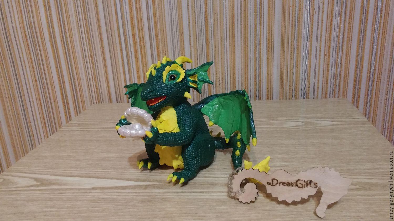Sea dragon with a gift, Figurines, Kiev,  Фото №1