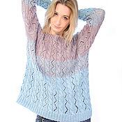 Одежда handmade. Livemaster - original item Knitted pullover