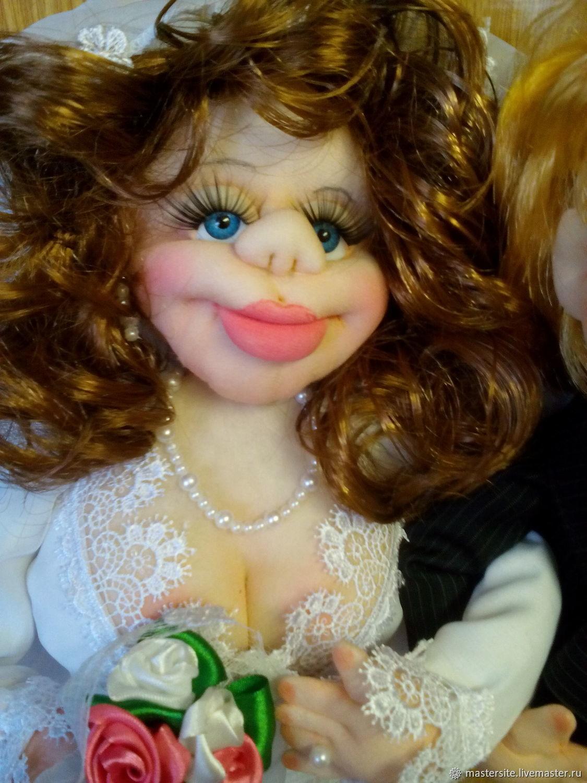 Кукла свадебная жених и невеста, Подарки, Ярославль,  Фото №1