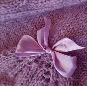 Одежда ручной работы. Ярмарка Мастеров - ручная работа Нарядный джемпер сиреневого цвета. Handmade.