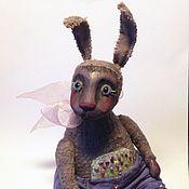 Куклы и игрушки ручной работы. Ярмарка Мастеров - ручная работа Лиловый кролик. Handmade.