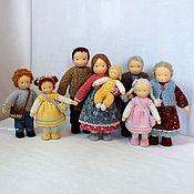 Вальдорфские куклы и звери ручной работы. Ярмарка Мастеров - ручная работа Семья. Handmade.