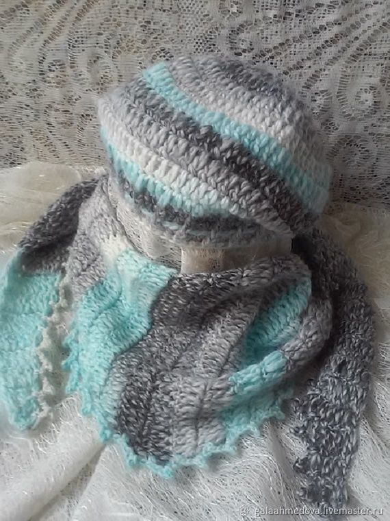 knitted shawl,accessories set, knitted accessories,hat,beret, shawl,buy shawl as a gift,Bacchus,scarf,handmade, women's, beautiful shawl,season, shawl knitting,shawl
