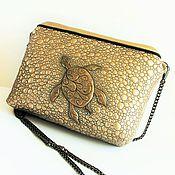 Сумки и аксессуары handmade. Livemaster - original item Women`s sea Turtle handbag, cross-body. Handmade.