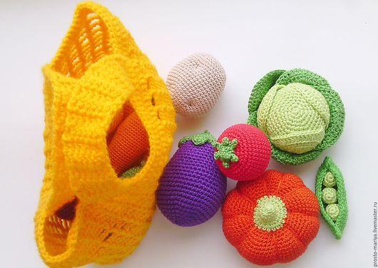 Развивающие игрушки ручной работы. Ярмарка Мастеров - ручная работа. Купить Сетка с витаминами.. Handmade. Еда, развивающие игрушки