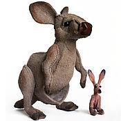 Куклы и игрушки handmade. Livemaster - original item James cook`s kangaroo toy. Handmade.