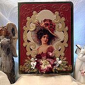 """Открытки ручной работы. Ярмарка Мастеров - ручная работа Открытка """"Драгоценная ты моя женщина"""". Handmade."""