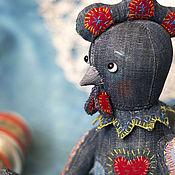 Куклы и игрушки ручной работы. Ярмарка Мастеров - ручная работа Поль. Тедди-петух. Символ Солнца и духовного возрождения. Handmade.