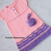 Работы для детей, handmade. Livemaster - original item Yesenia dress size 98. Handmade.