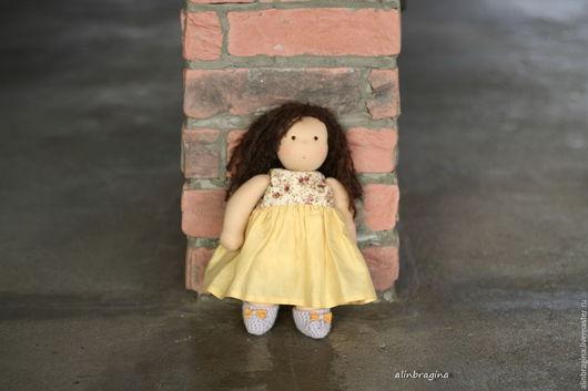 Вальдорфская игрушка ручной работы. Ярмарка Мастеров - ручная работа. Купить Кукла вальдорфская Натали. Handmade. Вальдорфская кукла