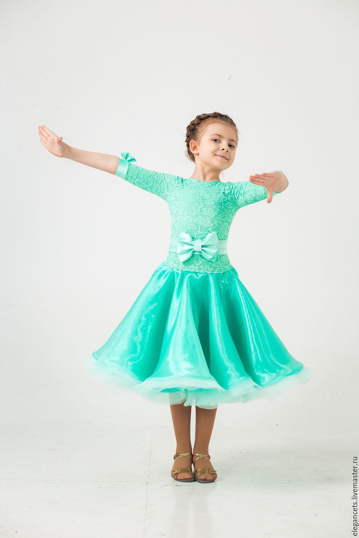 Детские бальные платья для танцев