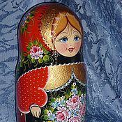 Русский стиль handmade. Livemaster - original item matryoshka 10 seats . Russian patterns .. Handmade.