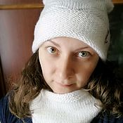 Шапки ручной работы. Ярмарка Мастеров - ручная работа Шапки, шарфы, снуды. Handmade.