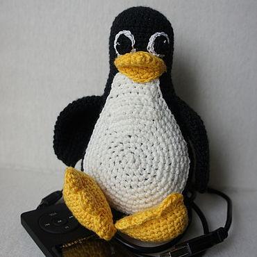 """Сувениры и подарки ручной работы. Ярмарка Мастеров - ручная работа Сувенир """"Пингвин Linux"""". Handmade."""