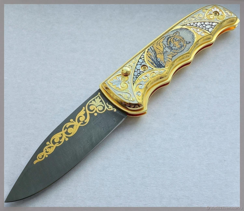 Folding knife z10705, Knives, Chrysostom,  Фото №1